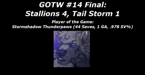 FHL Season 7 GOTW #14: Stallions 4, Tail Storm 1