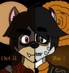 Happy Halloween and Feliz Dia de Los Muertos
