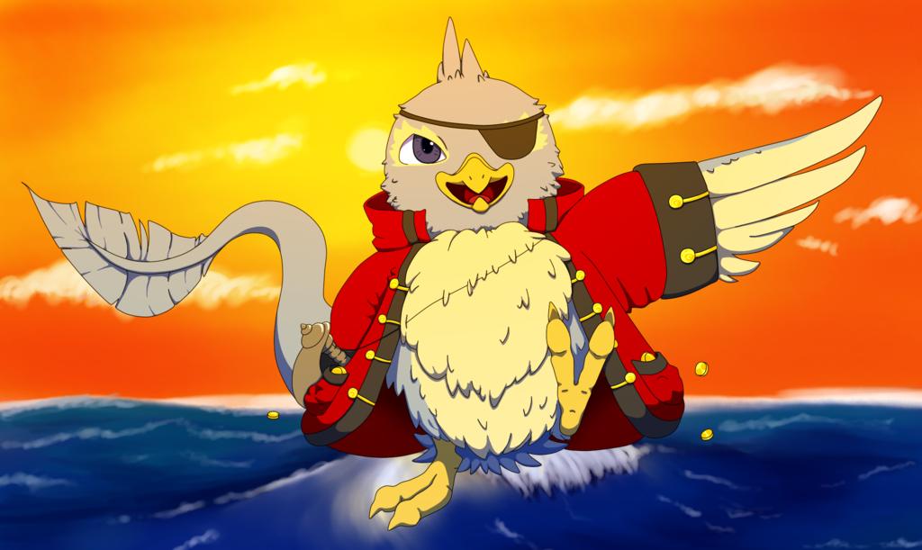 Pirate Pteri (Coloured)