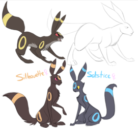 How I draw Umbreon