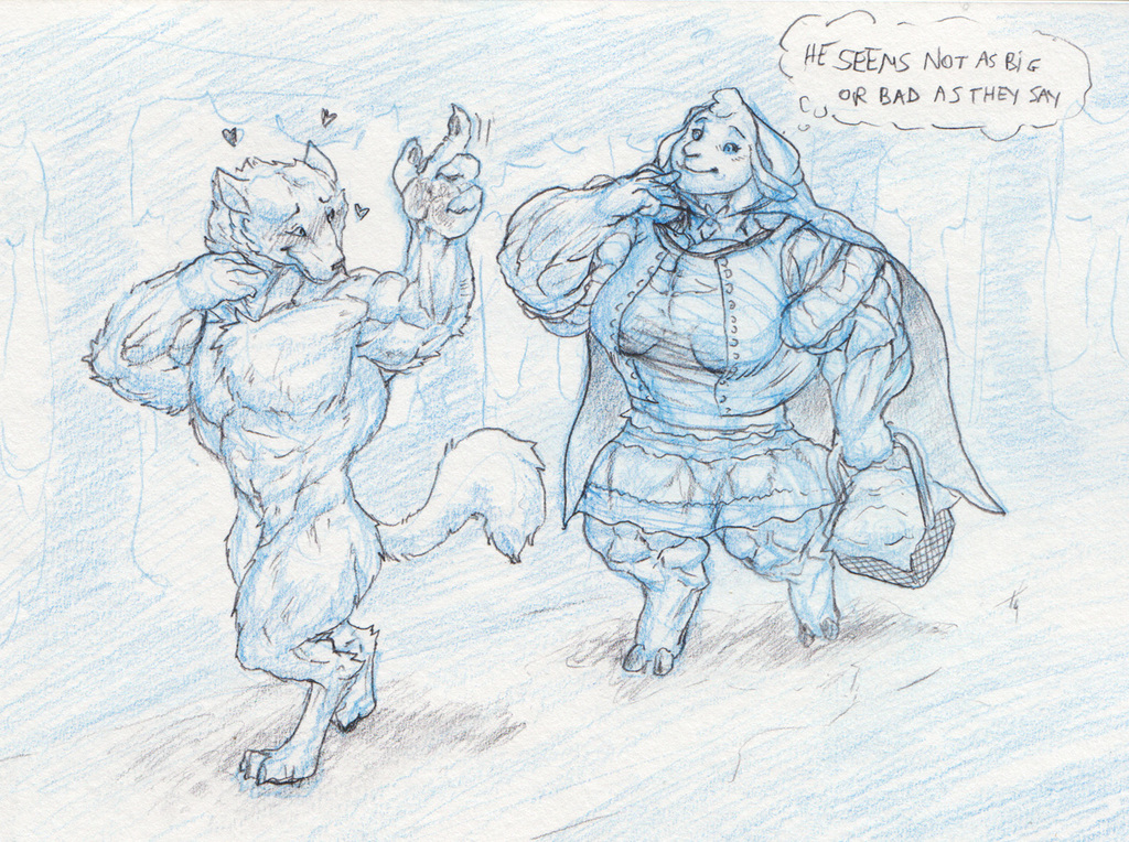 Not so bad wolf, not so big either