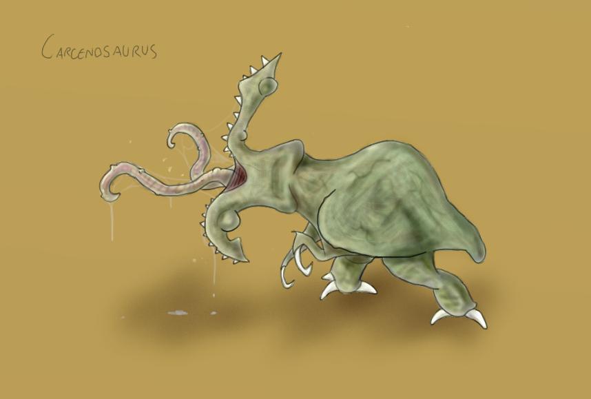 (AZC) Carcenosaurus
