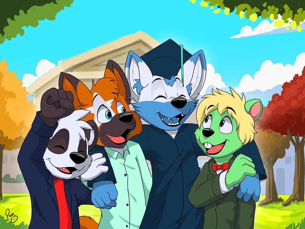 Graduate doggo