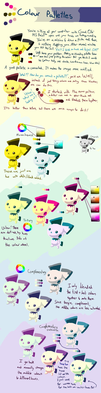 [TUTORIAL] Colour palette rambling
