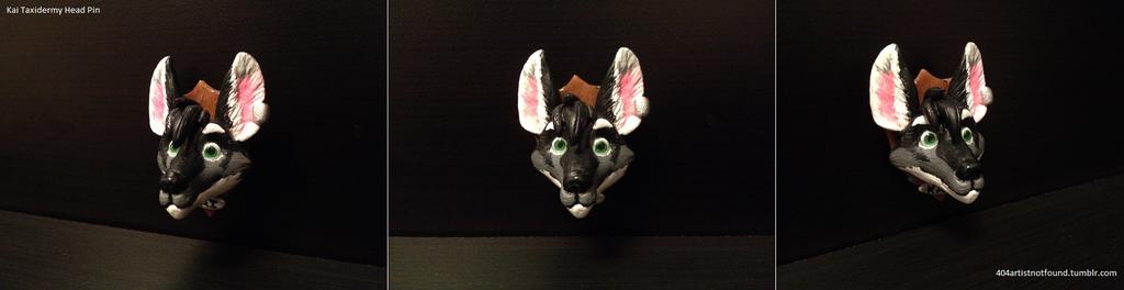 Taxidermy Head Pin - Kai