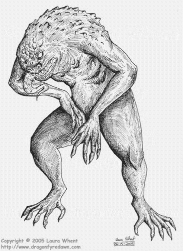 Frog Monster (old art)