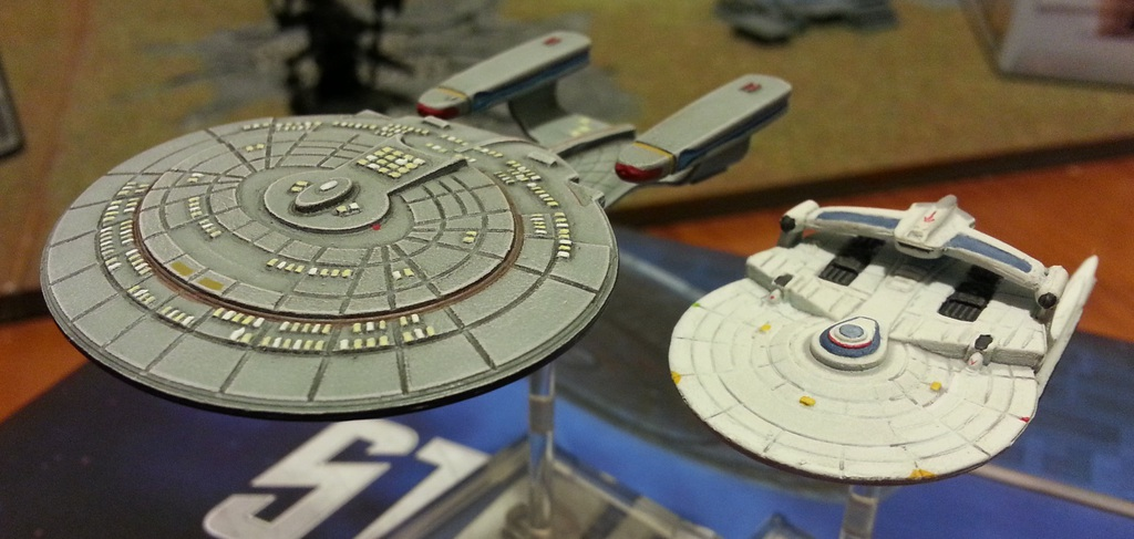 Galleria WIP - USS Enterprise-D