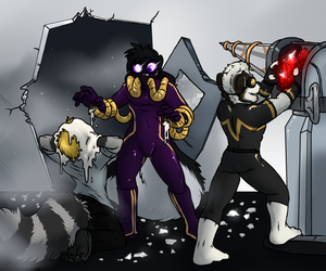 Ruby Heist by aggro_badger