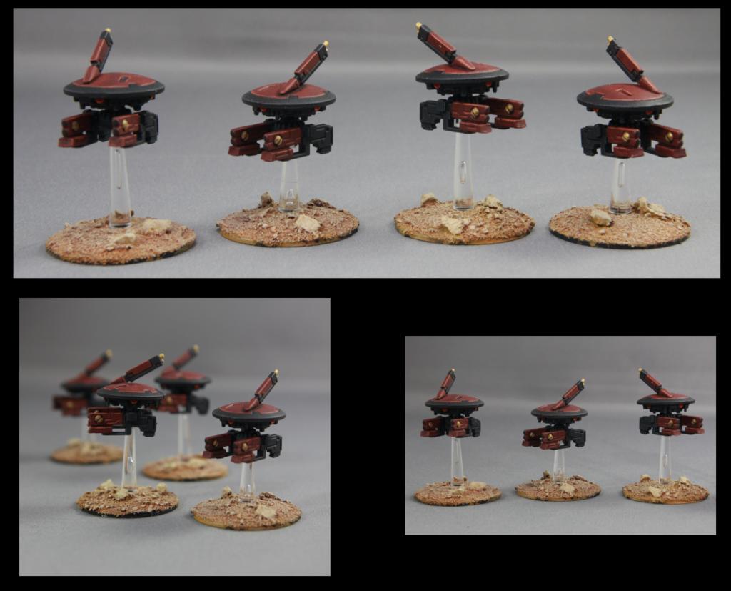 Tau Stealth Drones