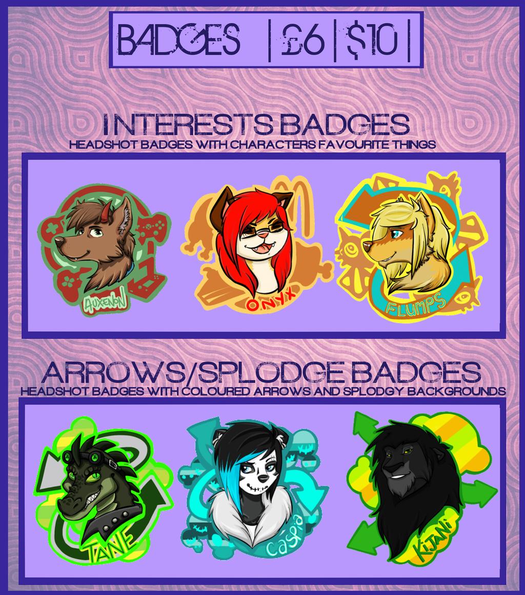 Badge Commissions