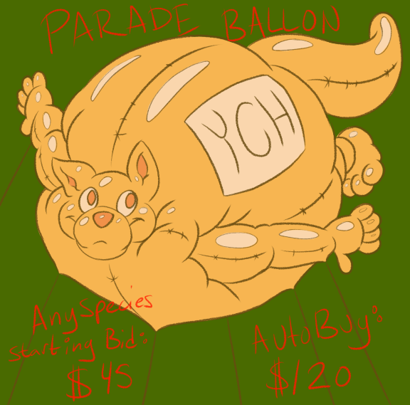 Most recent image: YCH Parade Balloon