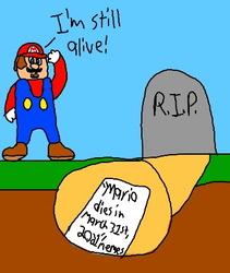 R.I.P Mario....... .....'s Dead Memes!