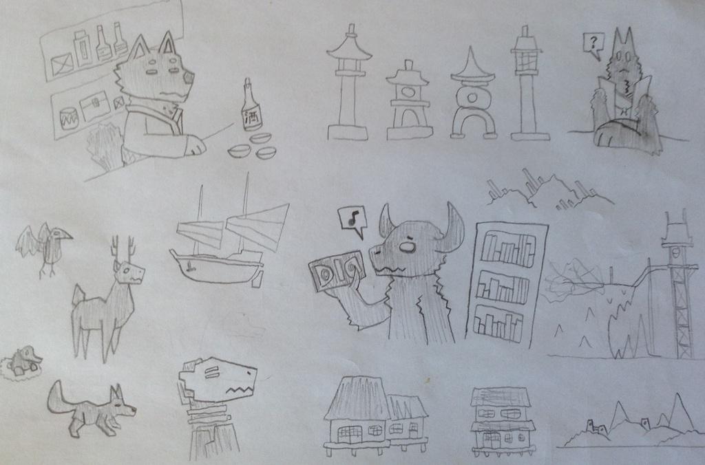 Simple Drawings (7)