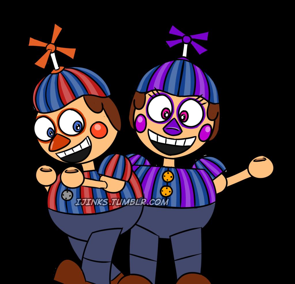 Creepy Clown Twins