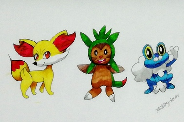 Pokemon Starters XY!