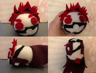 My Hero Academia Red Riot Eijiro Kirishima Stacking Plush