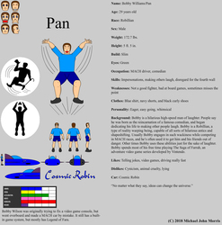 Pan Character Sheet