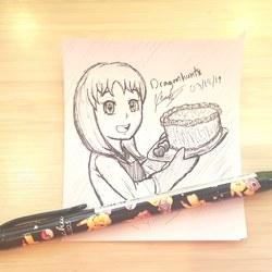 Work Doodles - Baking