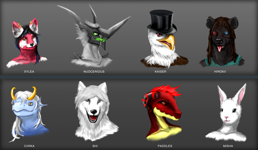 Friends! Painted Busts [Gift]