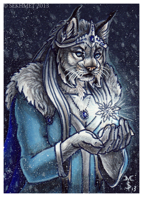 Gem of Winter (ACEO)