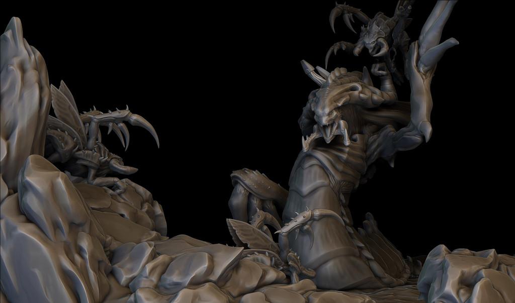 Zergling ambush/Unlikely alliance