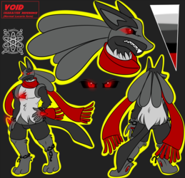 Void +Lucario Reference Commission 1/2+