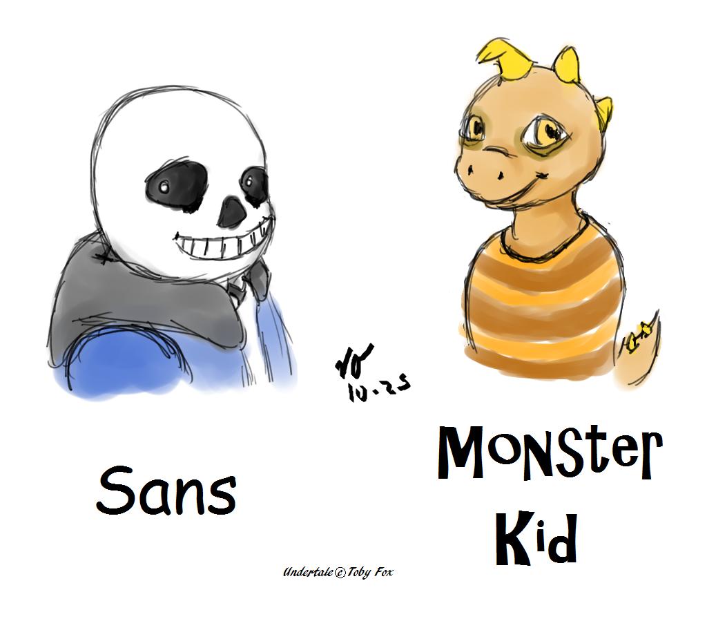 Sans & M K  Fanart — Weasyl
