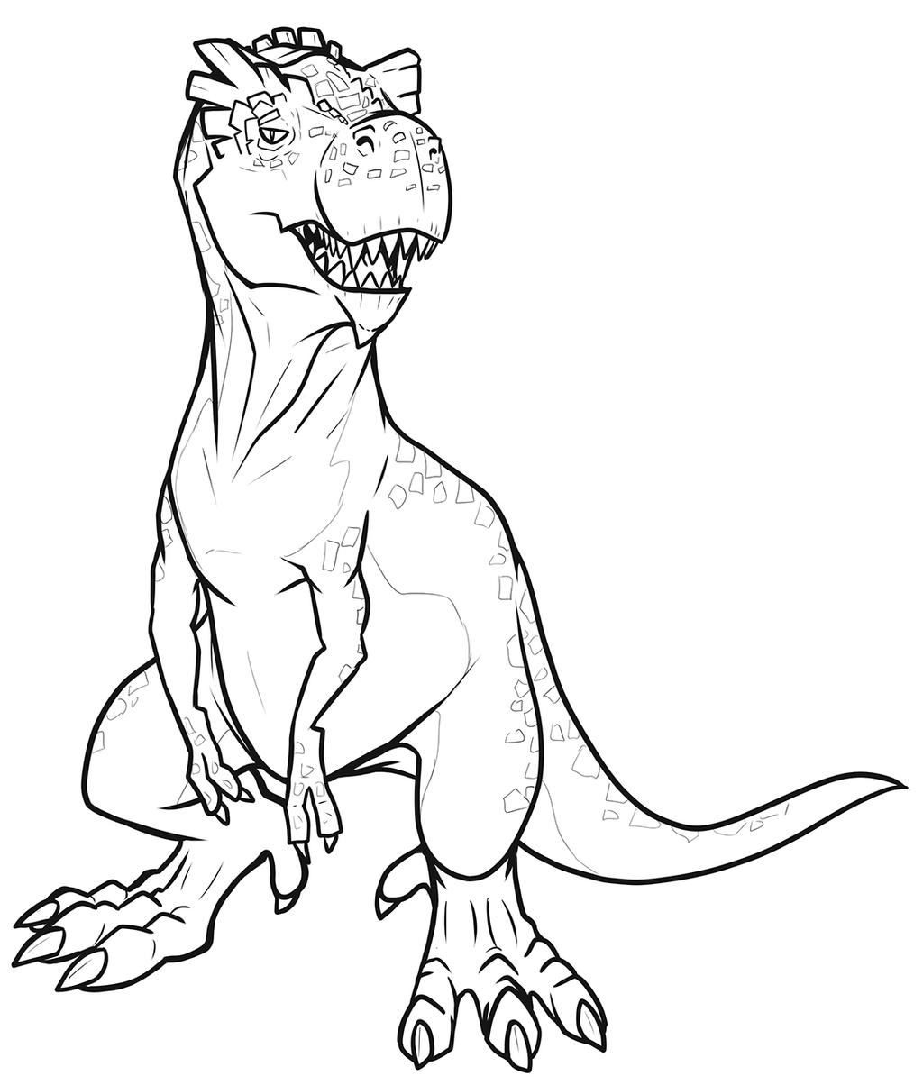 Despondent Devil Dinosaur