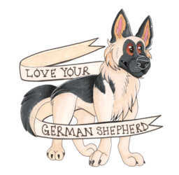 love your german shepherd