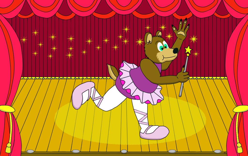 Ballerina Al Bear