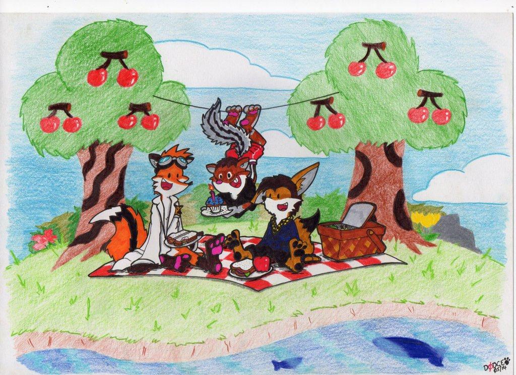 Chipmunk Birthday Picnic