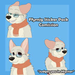 Ffyrnig Sticker Pack Comission