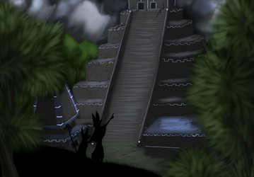 Temple of the Moon Speedpaint