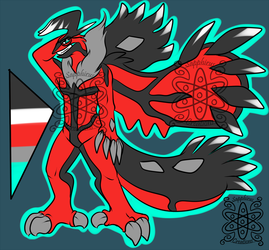 Devious Male Yveltal +Design+ (SOLD)