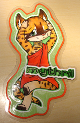 Mythril Chibi Badge