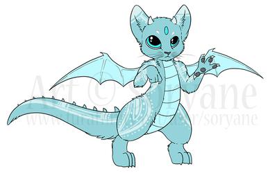 Zed the Psyonic Cat-dragon
