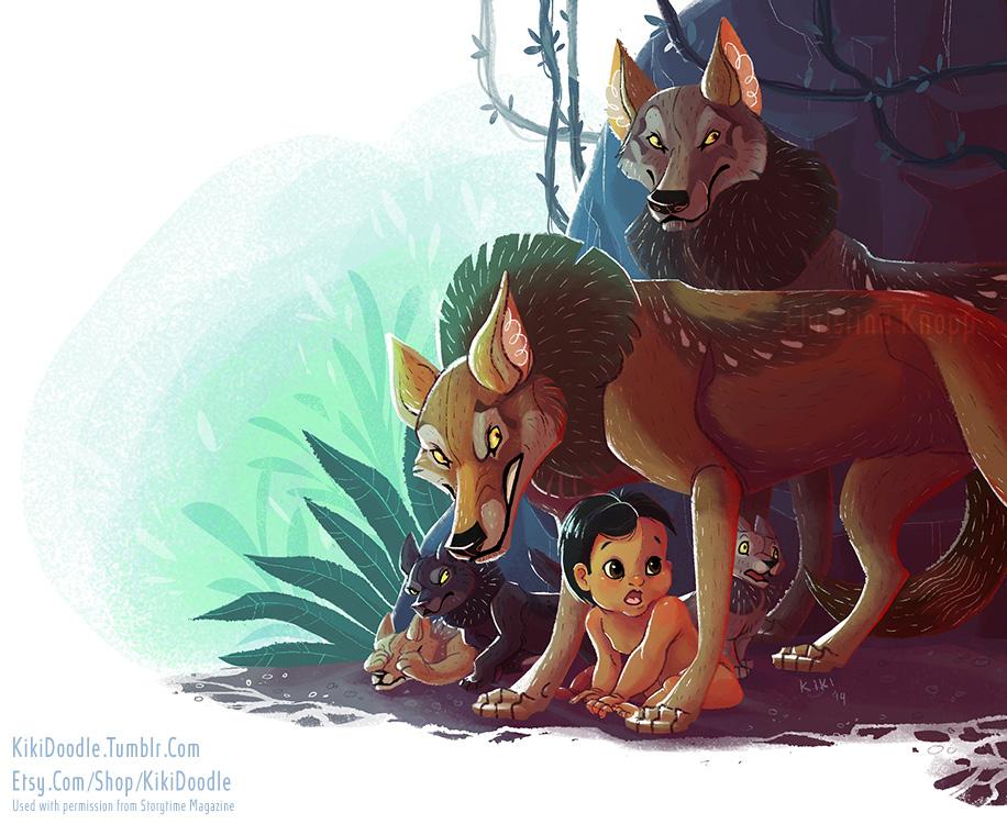 The Jungle Book Mama Wolf