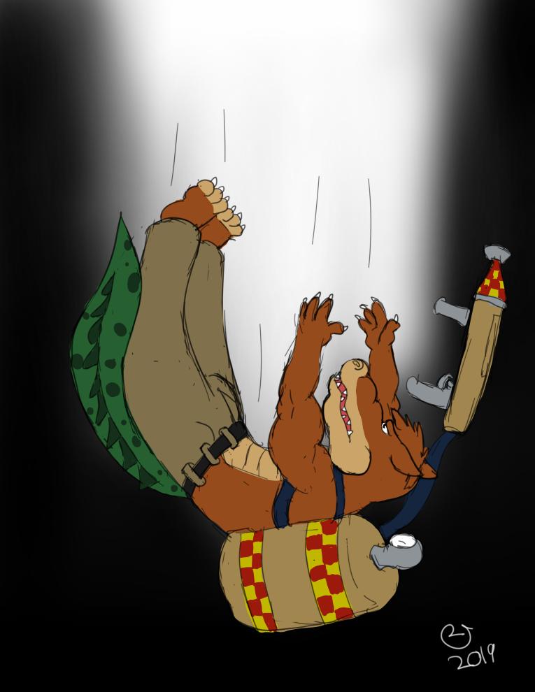 Patreon: Dingodile Falling