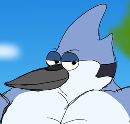 Buff Fantart Friday: Mordecai