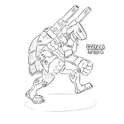 Armored Turtloid (Echo 6)