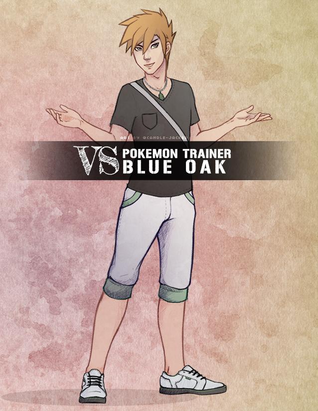 Most recent image: [ Fanart ] Trainer Blue