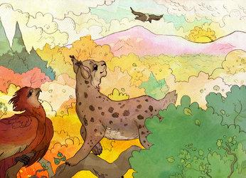 Zarya & Littlestwings - New Sun by Nettlebeast