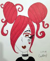 Messy Redhead