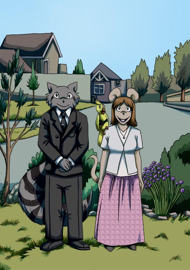 Raccoon's Den Characters