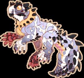 [A] Spiny Piebald Gecko - CLOSED
