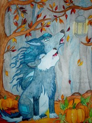 Howling in the Autumn Fog ...