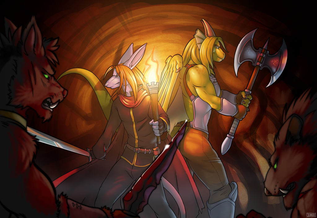 Most recent image: Battle in the Caves