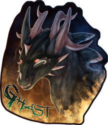 Badge Comish - Ghast