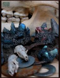cast crystals