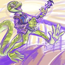 twitter sketch 58, rivia green
